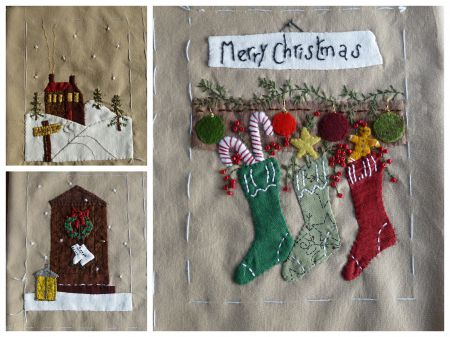 patchwork,appliqué,blog,scrap quilt & stitch,free,noël