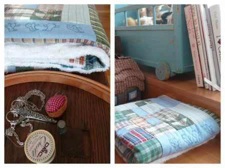 matelassage,patchwork,ouvrages oublies