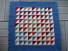 triangles quiltés.JPG