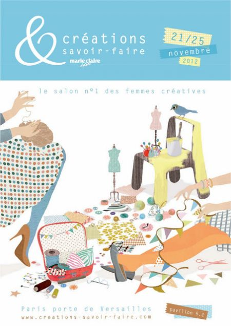 paris,salon creations et savoir faire